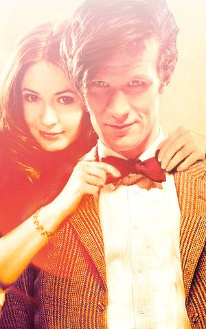 Daily Doctor Who Appreciation post the 11th doctor & Amy Pond
