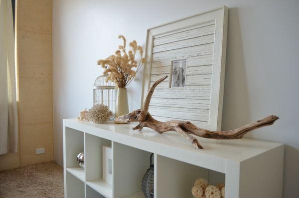 fundstücke als natürliche dekoration - http://wohnideenn.de