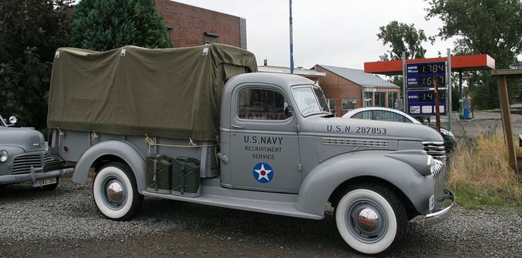 FleetMasters - Chevrolet US Navy 1941 | vehicules military ...