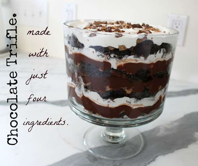 Trifles, Chocolate trifle and Heath bars on Pinterest
