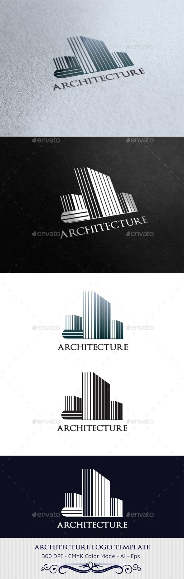 Architecture Logo Design Template Vector #logotype Download it here:  http://graphicriver.net/item/architecture-logo-template/9459964?s_rank=1159?ref=nexion