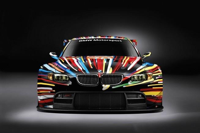 2010 BMW M3 GT2 Jeff Koons Art Car