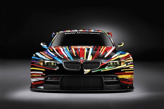 Pictures and Wallpapers of 2010 BMW M3 GT2 Jeff Koons Art Car