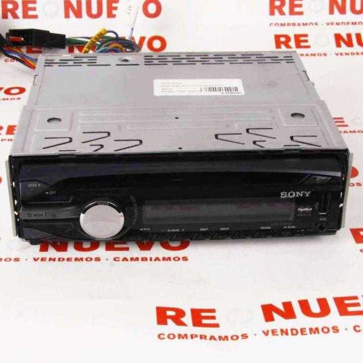 Autoradio SONY 52w x 4 USB E268540 de segunda mano | Tienda de Segunda Mano en Barcelona Re-Nuevo
