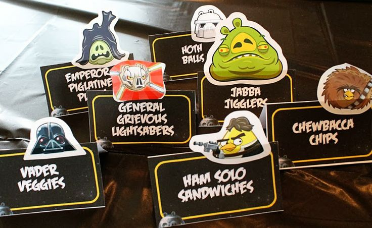 Scraps of Shirlee: Angry Birds Star Wars Party