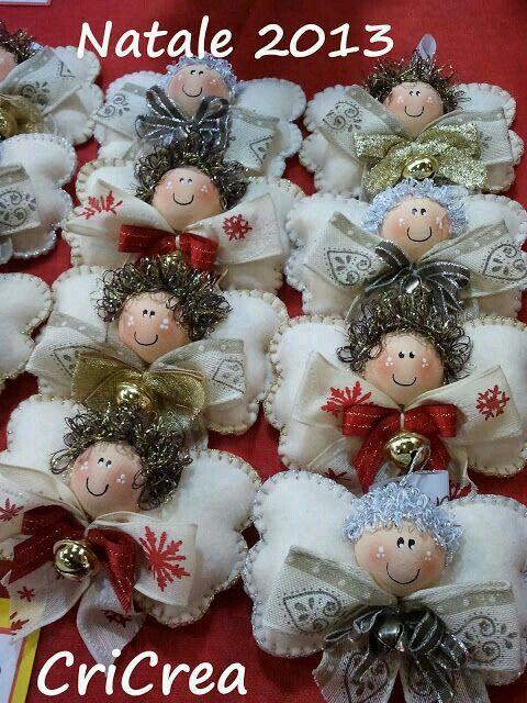 angeli in feltro