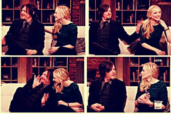 Emily kinney norman reedus and norman on pinterest