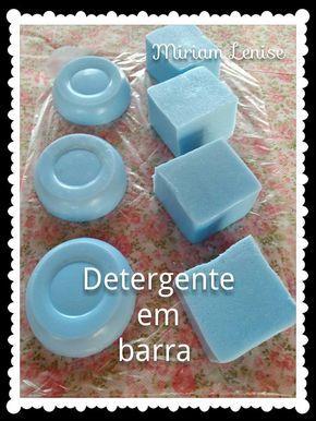 Para fazermos esse detergente em barra, usaremos: . 500 ml de água quente (mais para quente do que morna) . 1 barra de sabão - 200g...