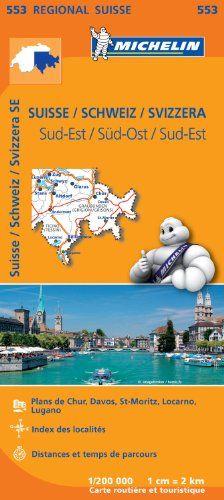 Carte Suisse Sud-Est Michelin #Carte #Suisse #Michelin