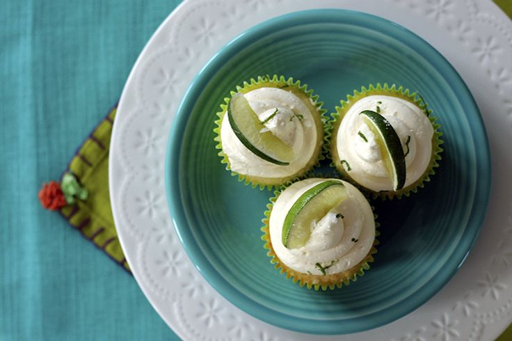 One Tequila, Two Tequila, Three Tequila...Cupcakes. Recipe For Margarita Cupcakes. - Baking the Goods