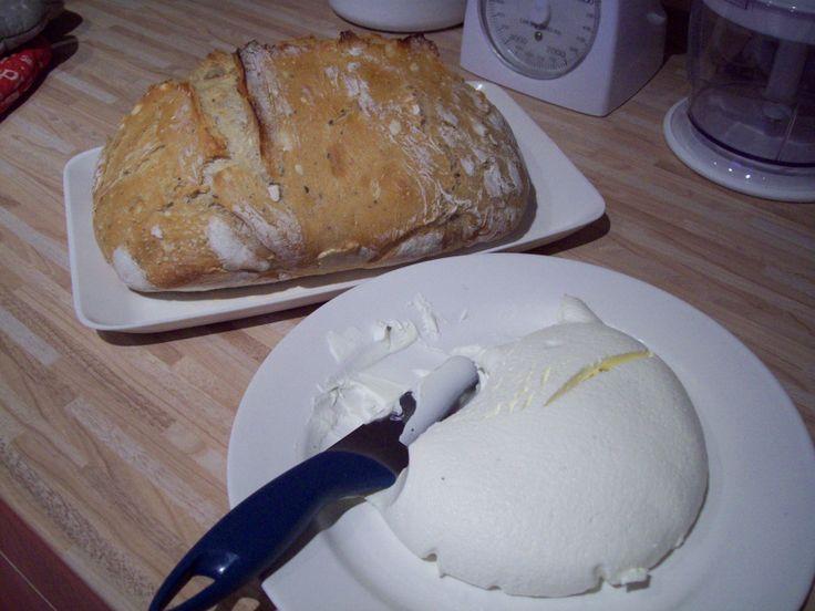 Chleba se sýrem