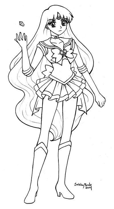 Sailor Astera - Sailor Moon Crystal by sakkysa | Sailor ...