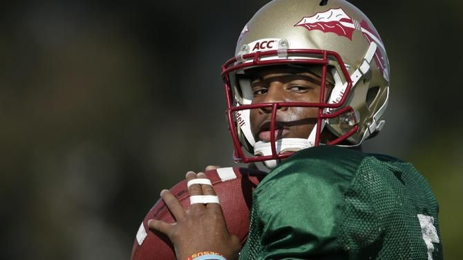 FSU quarterback Jameis Winston will not play Saturday night against Clemson