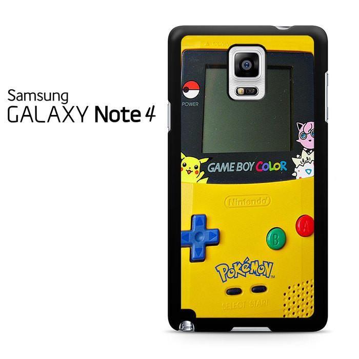 Gameboy Color Pokemon Samsung Galaxy Note 4 Case