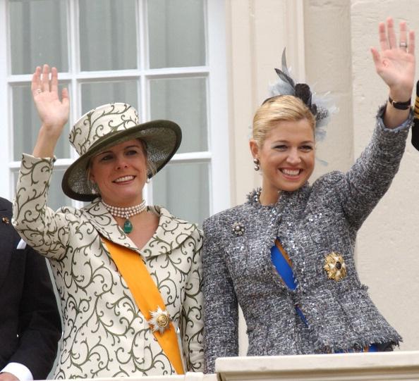 Princess Laurentien and Princess Maxima, 2004