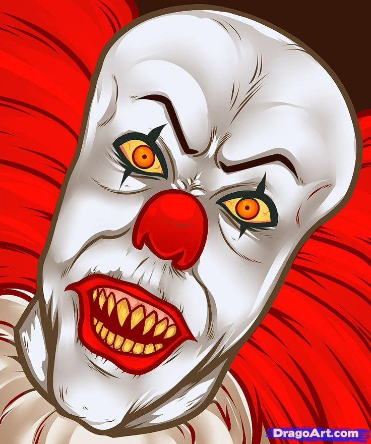 how to draw pennywise, pennywise, pennywise the clown ...