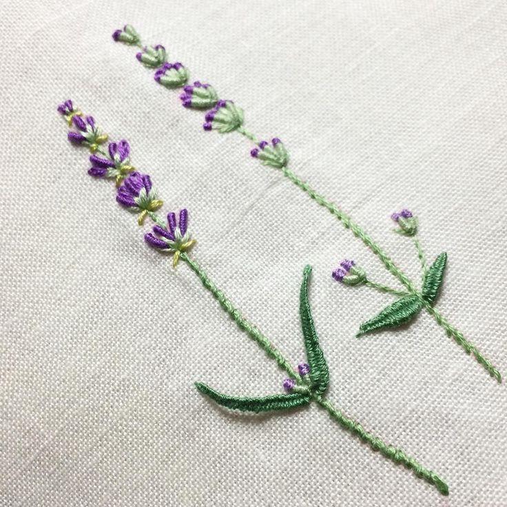 Fantastic embroidered lavender!