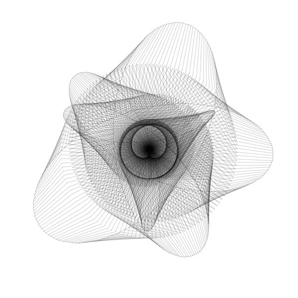 Processing sketch by Math & Code