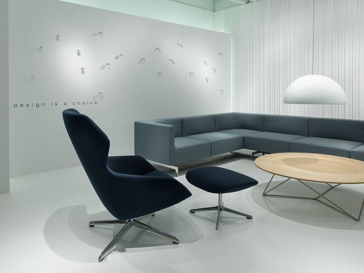 Ginkgo Lounge From Davis Furniture   Shown With Side By Side Lounge And  Stem Table