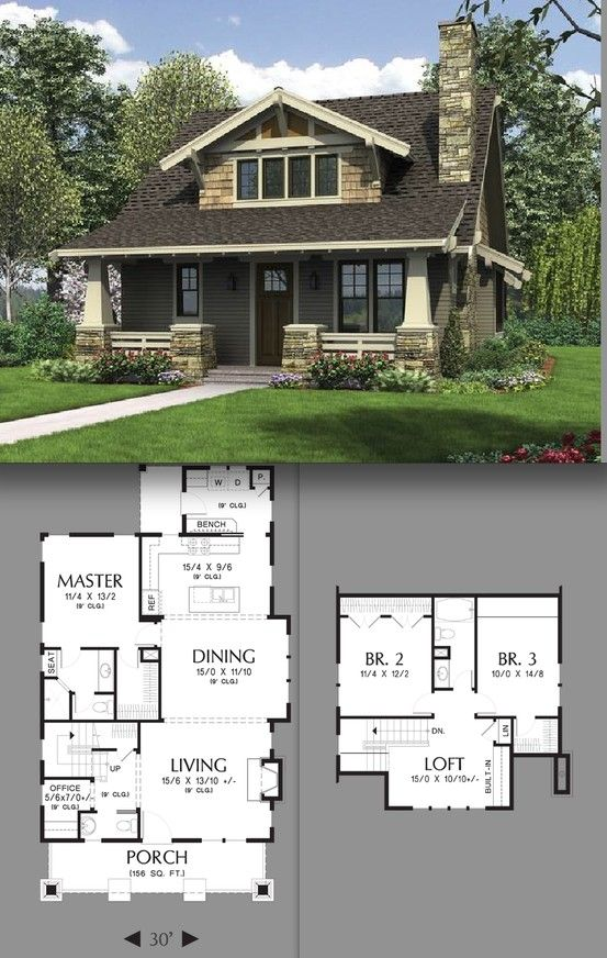 Best Craftsman Cottage Ideas On Pinterest Craftsman Homes - Cottage and bungalow house plans