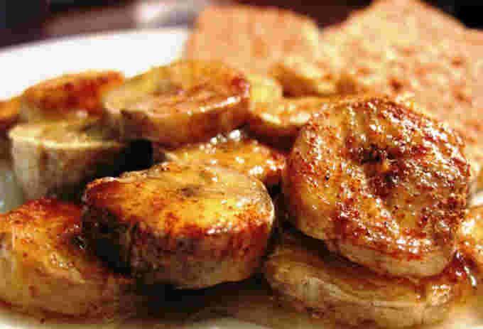 recette des bananes au miel au four