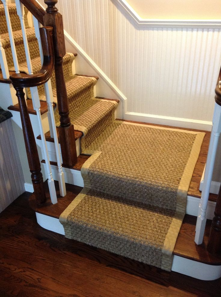 Best Seagrass Runner On Stairs Google Search Sisal Stair 400 x 300