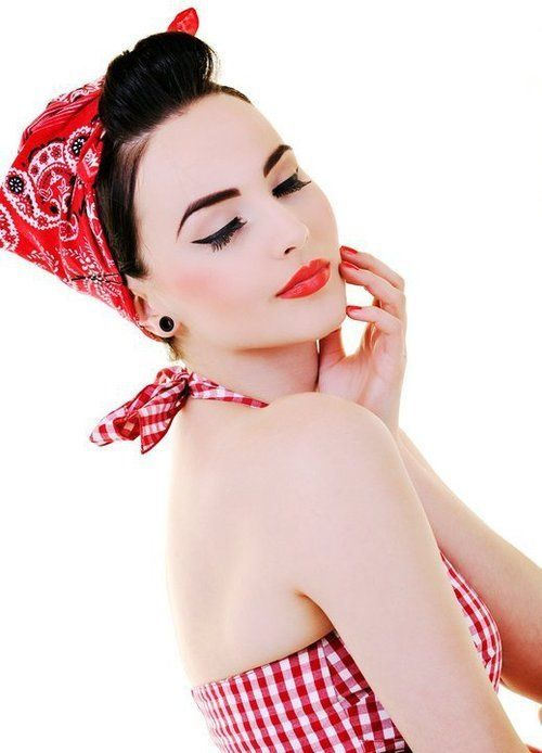 pin-up faceRockabilly Fashion, Style, Beautiful, Red Lips, Pin Up Looks, Pinup Girls, Makeup Looks, Hair, Pin Up Girls