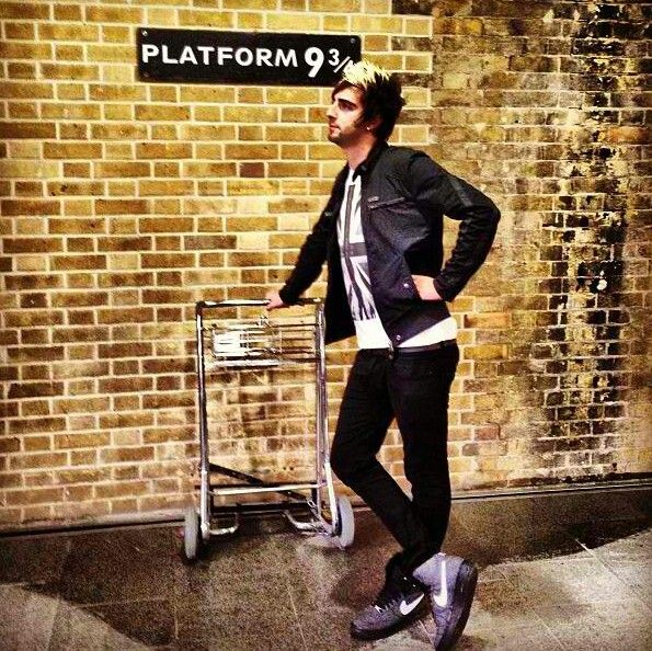 Jack Barakat. I love how Alex and Jack are the biggest Potterheads :)