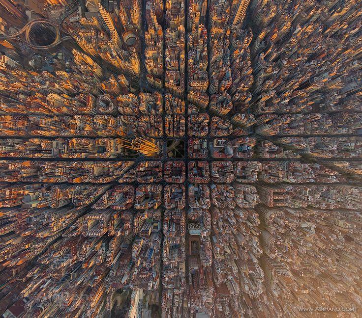 Eixample de Barcelona (por Airpano)