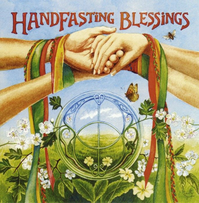 Handfasting Blessings ~ Samantha Symonds