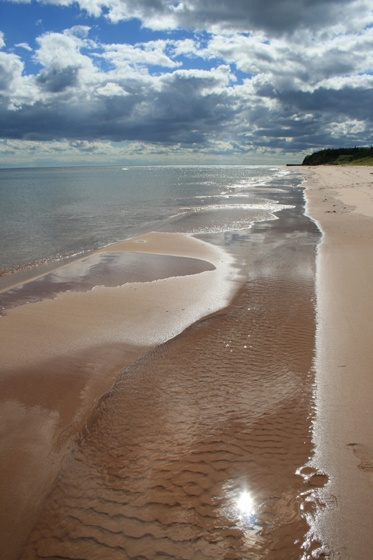 Beautiful beaches of PEI.