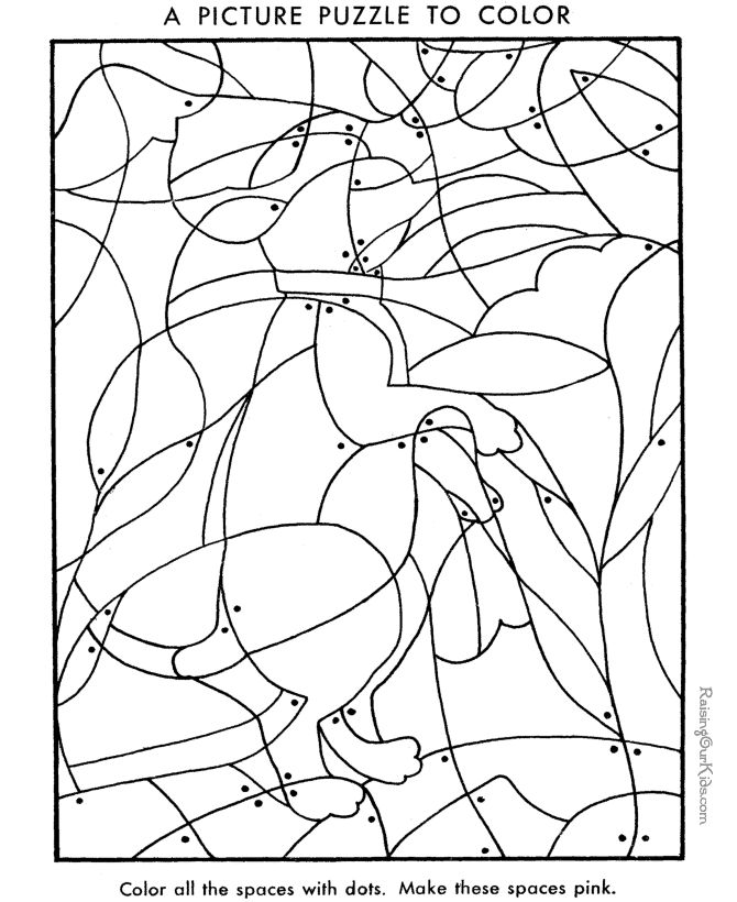 Preschool Picture Puzzles Coloring Pages Preschool Pictures