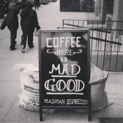 Madman Espresso NYC http://www.sousouandspice.com/