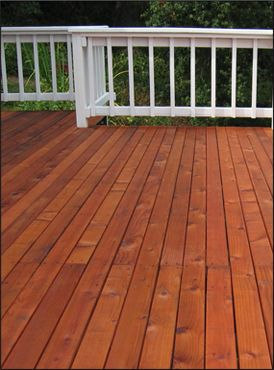 The Deck Color, Stain Or Coating Not Only Enhance The Exterior Beauty     Enriching The Look Of The Deck    But Also Protect The Wood From Household  Spills, ...
