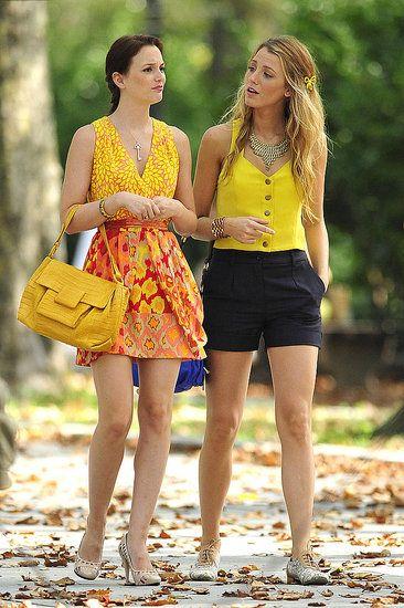 Leighton Meester & Blake Lively. Gossip Girl