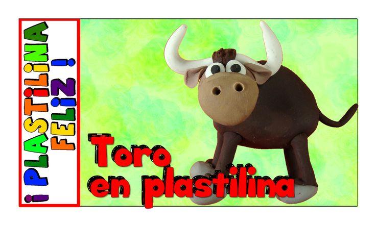 En este video encuentras paso a paso como hacer un toro de plastilina. Puedes hacer este toro en play doh, porcelanicron o porcelana fría.