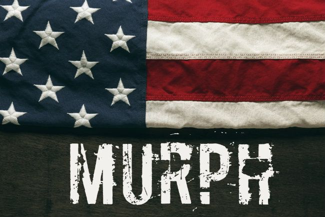 Murph WOD: Suffer a Little, Some Suffered It All #CrossFit #MemorialDay