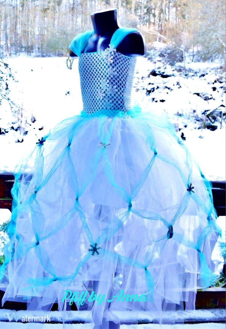 Elsa Kostüm, Eis Prinzessin,Tutu Kleid Frozen, Eis Königin