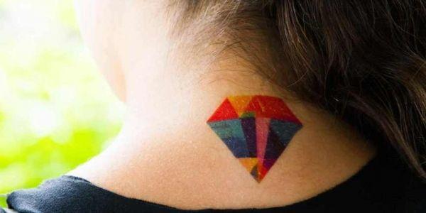 Fotos e modelos de significados de tatuagem de diamante   – tatoo