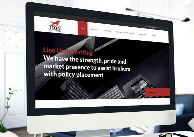Website Development project for Lion Underwriting lionunderwriting.com.au