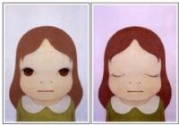 Yoshimoto Nara - one of my fav. contemporary artists.