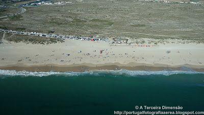 A Terceira Dimensão - Fotografia Aérea: Praia do Medão Grande (Praia dos Supertubos)