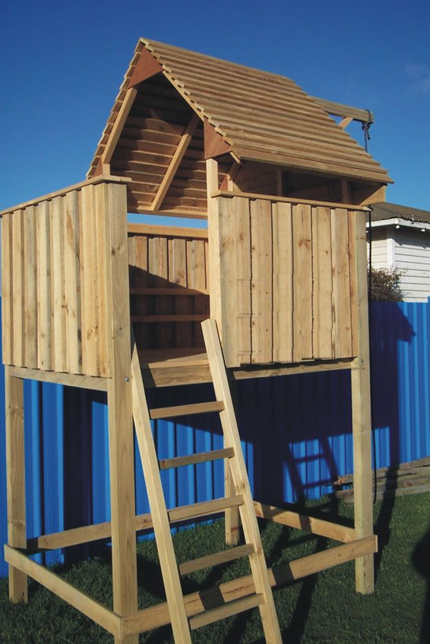 Free playhouse plans nz woodworking projects plans for Free playhouse blueprints