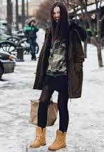 Resultado de imagen para botas de leñador para mujer