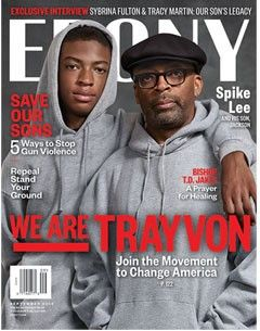 Trayvon Martin and Spike Lee. SAVE OUR SONS : 5 WAYS TO STOP GUN VIOLENCE.