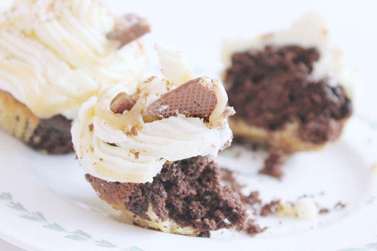 Curly Wurly Cadbury cupcakes recipe