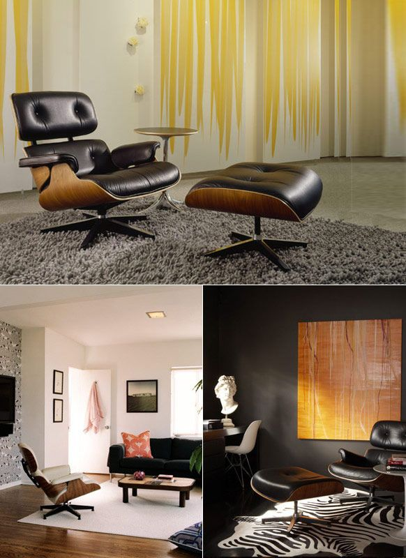 68 best Eames Lounge Chair images on Pinterest Eames lounge