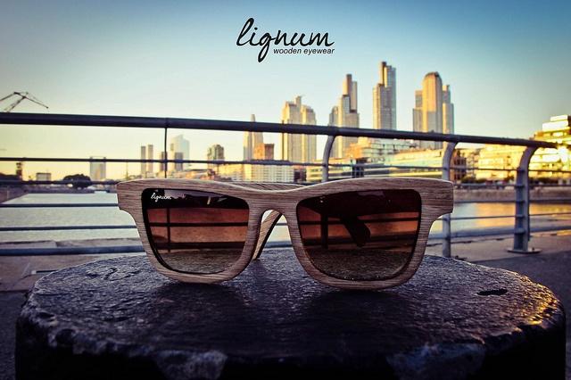 Lignum Wooden Eyewear by Blendshop Medellín, via FlickrLignum Wooden Eyewear