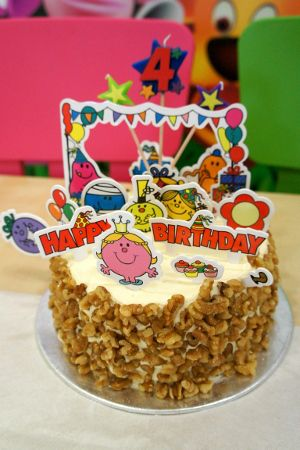 Best Ethans Mr Men And Little Miss Party Images On Pinterest - Little miss birthday cake