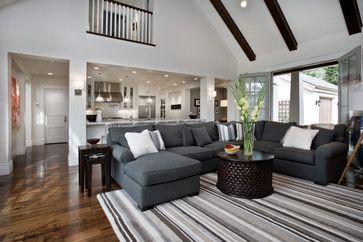 Family Room - contemporary - family room - salt lake city - B.Design-Sectional